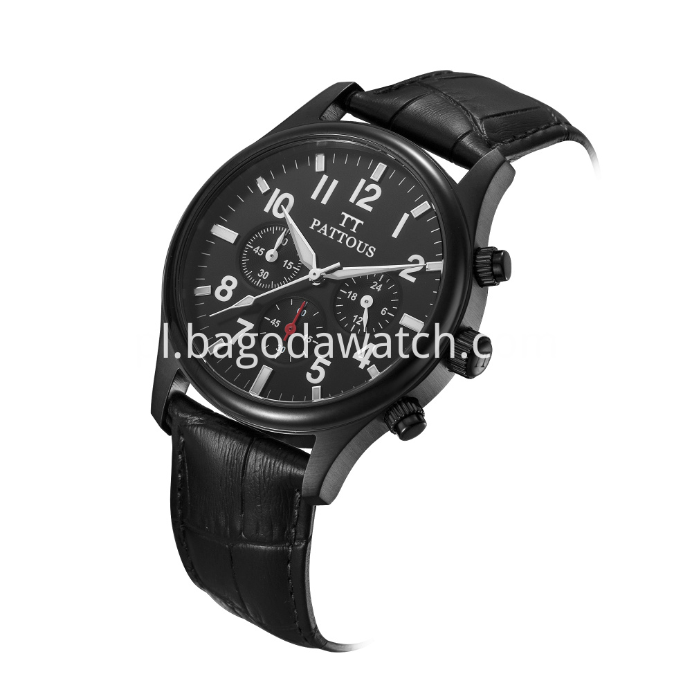 Mens Black Stainless Steel Watches