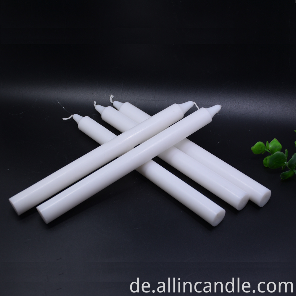 white candle