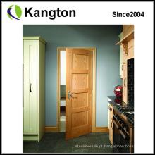 Luxo e boa qualidade moderna porta de madeira esculpida (porta de madeira)