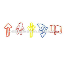 Fashion High Quality Metal Custom Shaped Paper Clips