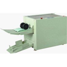 Paper folding machine with stitching function
