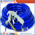 2016 High Grade Rubber Hydraulic Paint Spray Duct Hose