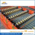Rolo ondulado de aço colorido da chapa metálica que forma máquinas