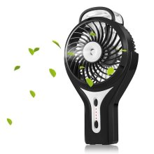 Fan de brume Mini Handheld LED USB Fan Personnels