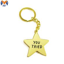 Design your own metal star keyring