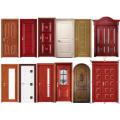High Quality Teak Plywood Door Indian Main Door Designs (SC-S128)