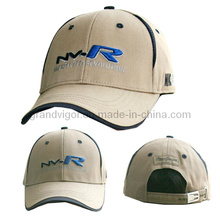 Cotton Golf Cap with Adjustable Buckle