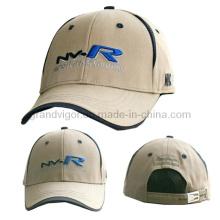 Хлопковая кепка для гольфа с регулируемой пряжкой