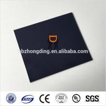 feuille plastique en polycarbonate noir