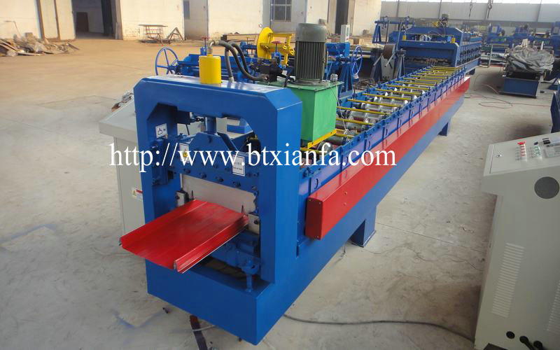 Ghana Self Lock Standing Seam Roll Forming Machine