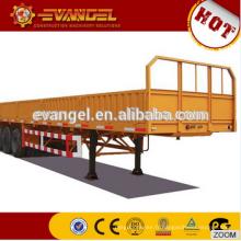 Semi-remorque de bas lit de 2 essieux pour l'utilité et le prix de remorque de camion