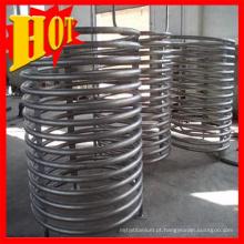 Tubo Titanium original da exportação Gr1 na bobina para o aquário