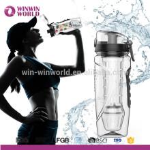 Infuseur pleine longueur unique de haute qualité et bouteille d'eau d'infuseur de douille isolante