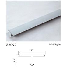 8.5cm Altura Aluminio T Forma Trim