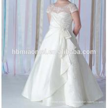 2016 été nouvelle mode enfants fleur fille robe robes de bal danse porter fille robe de robe