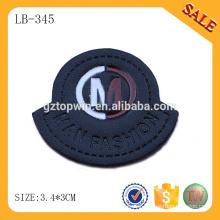 LB345 3d logo Soft PVC patch for handbags