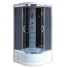 Armoire de bain de vapeur portable avec plateau haut