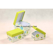 Luxury Rigid Clamshell Stationary Packing Paper Box
