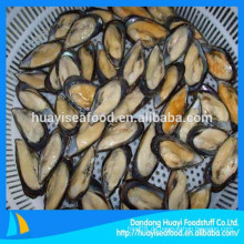 Miesmuscheln Lieferanten liefern alle Größen Halbschale Muschel