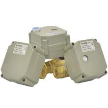 Actuador eléctrico motorizado de la válvula de bola de DC3V / DC5V / DC12V (T8-B2-A)