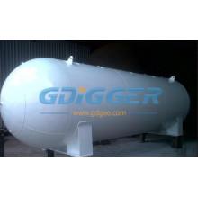 LPG Tank 100m3 LPG Storage Tanks Gas Pressure Vessel