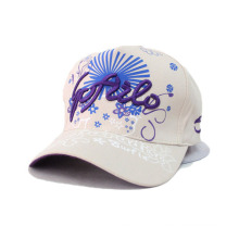 Lady Fashion Cotton Twill Baseball Sport Cap (YKY3007-2)