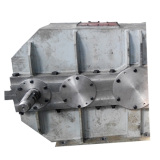 Speed reduction marine pinion gearbox
