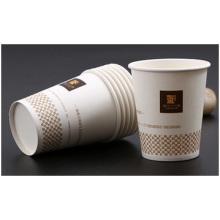 Hersteller 9 Unzen Einweg Werbung Papier Tassen Druck Logo
