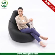 Антикварный стиль черный кожаный угловой диван-кровать для взрослых