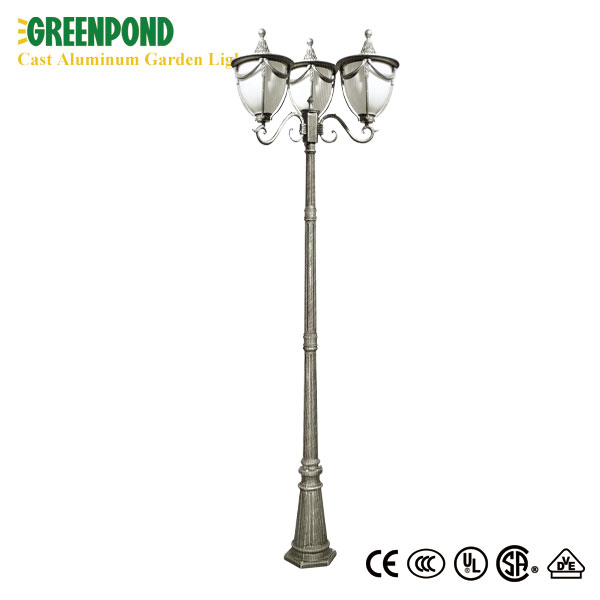 Optimum Fixture for Cast Aluminum Garden Lamp