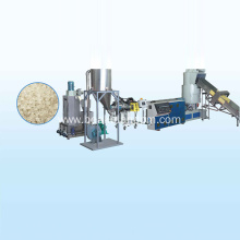 plastic bags granulating machine
