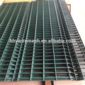 PVC coated welded iron wire mesh panels green build panel price bend panel