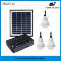 4 w 11 v painel solar 3 pcs 1 w led solar lâmpadas solares kit casa sistema solar