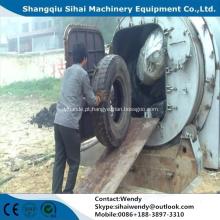 planta da pirólise da máquina da reciclagem de pneus waste
