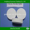 Comprimé de dioxyde de chlore pour produits chimiques de piscine / tablette clo2 10%