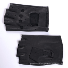 mens leather motorcycle gloves with adjusted closure