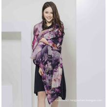 2017 Water Soluble Wool Women Scarf From Shanghai