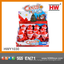 Смешные рождественские подарки 5-летняя девочка Санта-Клауса конфеты игрушки