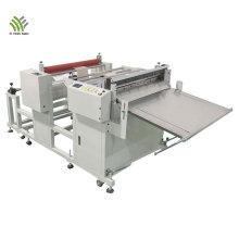 Automatic glass fabric cross cutting machine