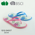 Ladies fashion dernière conception Beach Summer Flip Flop