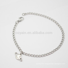 Unique Pendant Silver Ankle Chains Bracelet Foot Jewelry Made In China