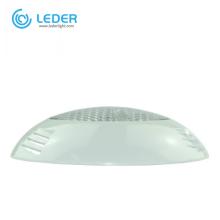 LEDER White Black Morden Resin Filled LED Pool Light