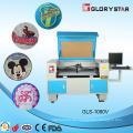 [Glorystar] CO2 Laser Stickerei Patch Schneidemaschine mit Kamera