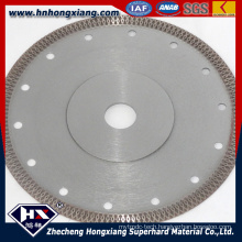 Hot Pressed Super Thin Cyclone Mesh Turbo Diamond Blade for Ceramic Tile