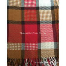 Classical High Quality Jacquard Grid Scarf