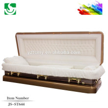 JS-ST644 wholesale best price metal caskets china