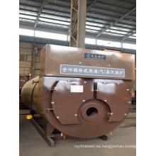 Caldera de vapor de condensación de petróleo o gas