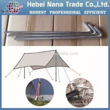 Титан десяти колышек,легкий Кемпинг образный колышек для палатки