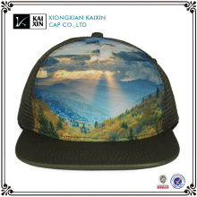 Wholesale Customised Cheap 5 Panel Snapback Mesh Trucker Cap