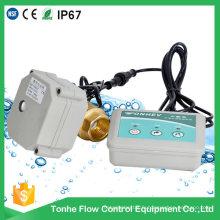 Dn20 avec Indicateur Capteur en laiton Détecteur de détection de fuite d'eau Système Valve